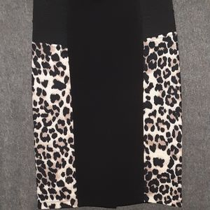 Bongo S NWOT stretch skirt cheetah